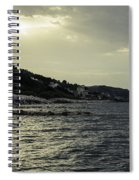Sunset On The Beach - Twilight Symphony Spiral Notebook