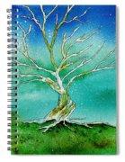 Twilight Tree Spiral Notebook