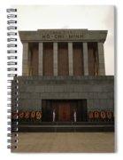 Twilit Ho Chi Minh Mausoleum Spiral Notebook
