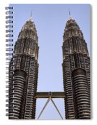 Twilit Petronas Spiral Notebook