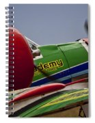 Twin Blades Spiral Notebook