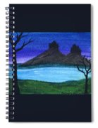 Twin Castles Spiral Notebook