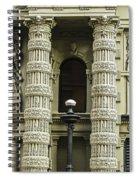 Twin Columns Spiral Notebook