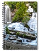 Twin Falls Flows Forth Spiral Notebook