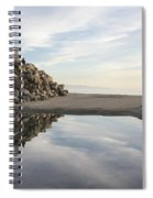 Twin Lakes Beach Spiral Notebook