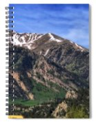 Twin Lakes Colorado Spiral Notebook