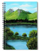 Twin Ponds Spiral Notebook