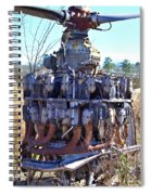 Twin Rows Spiral Notebook
