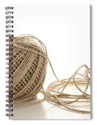 Twine Spiral Notebook