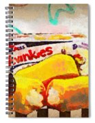 Twinkies Cupcakes Ding Dongs Gone Forever Spiral Notebook