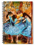 Twinkle Toes Spiral Notebook