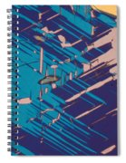 Twins Of Cordierite 3 Spiral Notebook