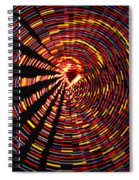 Twirling Under The Christmas Tree Spiral Notebook