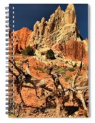 Twisted And Colorful Spiral Notebook
