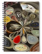 Twisted Button Spiral Notebook
