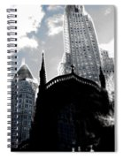 Twisted City Spiral Notebook