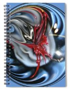 Twisted Clown Orb Spiral Notebook