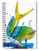 Twisted Mahi Spiral Notebook