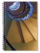 twisted stairs Vizcaya Spiral Notebook