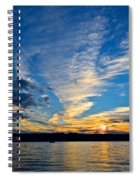 Twister Cloud Spiral Notebook