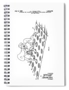 Twister Patent Drawing Spiral Notebook