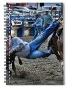 Twisting Horns Spiral Notebook