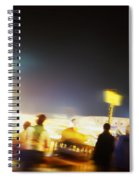 Twisting The Night Away Spiral Notebook