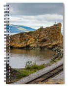 Twisting Track Spiral Notebook