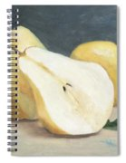 Two And A Half Pears Spiral Notebook