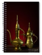 Two Arabic Coffee Pots Spiral Notebook