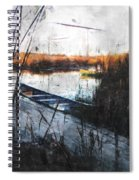 Two At The Dock Spiral Notebook