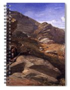 Two Bandits In The Hills, 1857 Spiral Notebook