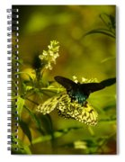Two Beautiful Creations Spiral Notebook