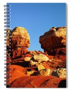 Two Big Rocks At Capital Reef Spiral Notebook