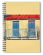 Two Blue Doors Spiral Notebook