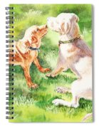 Two Brothers Labradors Spiral Notebook