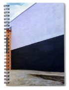 Two Buildings Spiral Notebook