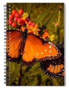Two Butterflies Spiral Notebook