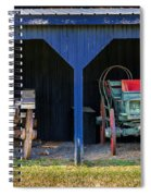 Two Carts Spiral Notebook