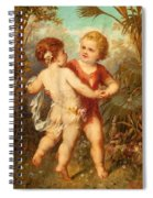 Two Cherubs Spiral Notebook