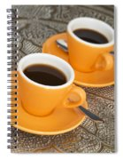 Two Cups Of Espresso Spiral Notebook