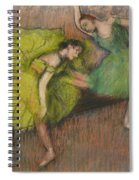 Two Dancers In The Foyer Spiral Notebook