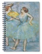 Two Dancers Spiral Notebook