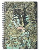 Two Faces Spiral Notebook
