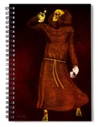 Two Faces Of Death Spiral Notebook