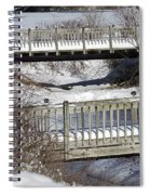 Two Foot Bridges Spiral Notebook