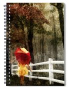 Two For The Road Spiral Notebook