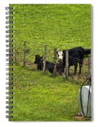Two Gas Sources Spiral Notebook