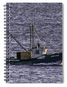 Two Girls And A Buoy Spiral Notebook