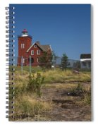 Two Harbors Mn Lighthouse 21 Spiral Notebook